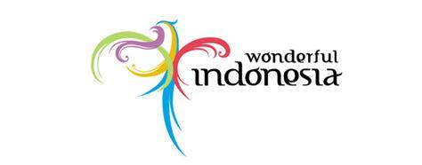 design wonderfull indonesia travel tour holiday logo 45