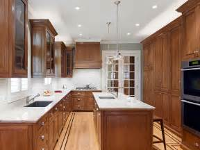Oak Kitchen Cabinets by Impressive Verde San Francisco Granite In Kitchen