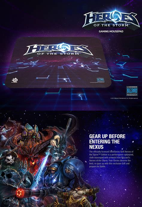 Steelseries Qck Heroes Of The Mousepad Gaming T0210 steelseries qck heroes of the edition mouse pad ss