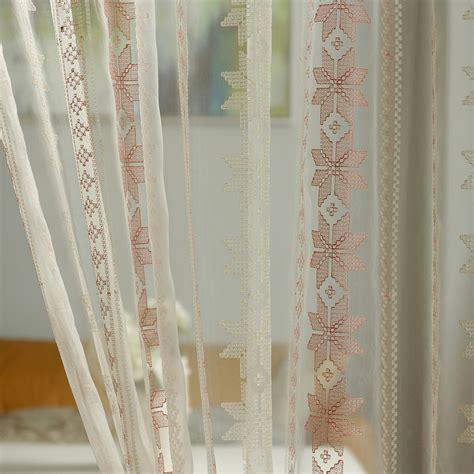 geometric orange curtains online buy wholesale orange geometric curtains from china