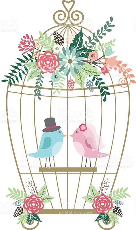 Birds Wedding Clipart by Birdcage Clipart Wedding Birdcage Pencil And In Color