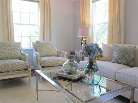 cozy chic living rooms cozy chic fairlington home