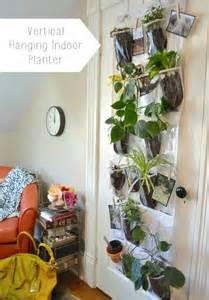 indoor hanging planters remodelaholic vertical hanging indoor planter