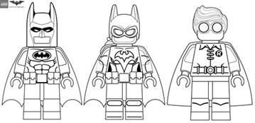 lego batman movie minifigures coloring pages coloring pages