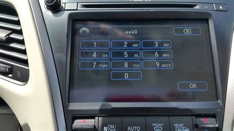 valet mode how to activate valet mode in the 2015 acura rlx youtube