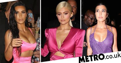 kim kardashian kylie jenner birthday 2018 kylie jenner joined by sisters kim and khloe for birthday