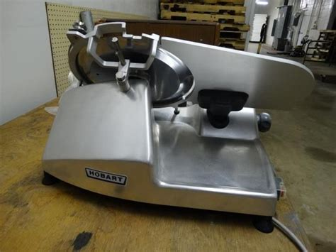 table top slicer used hobart hs4n table top slicer