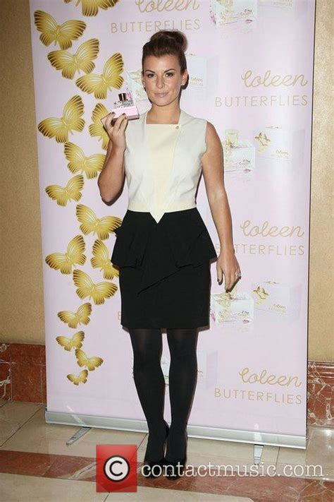 Coleen Mcloughlin Unveils New Perfume And A New Look by Coleen Mcloughlin Launches New Perfume Butterflies