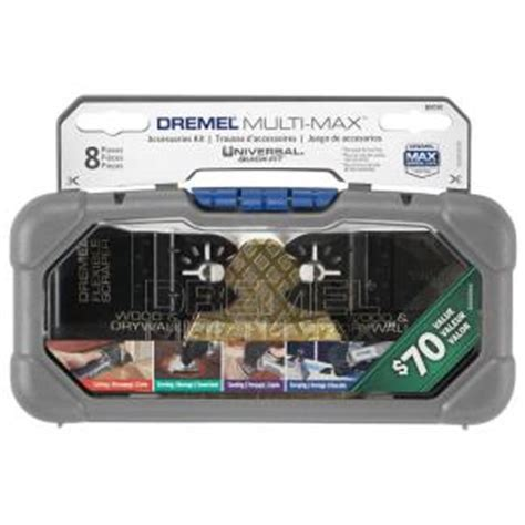 dremel multi max oscillating tool cutting and variety kit