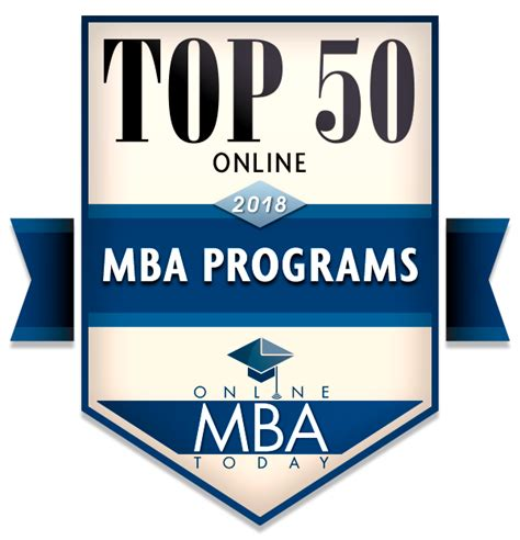 Bbest Mba Programs by Top 50 Mba Programs 2018 Mba Today