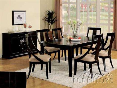 black wood dining room sets black wood dining room sets marceladick