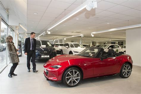 mazda cars uk special delivery how mazda supplies drivers with