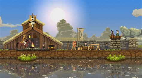 the kingdom by the kingdom review raw fury pixel art horseback 2d strategy game reviews the escapist