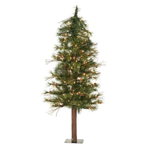 Awesome Slim Christmas Trees Artificial Pre-lit Led #6: Decoration-ideas-exciting-image-of-accessories-for-christmas-design-and-decoration-using-decorative-tall-alpine-lighted-miniature-artificial-christmas-tree-fascinating-miniature-artificial-christmas.jpg