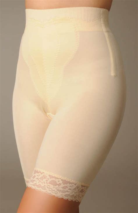 rago high waist long leg pantie girdles rago high waist long leg girdle panty