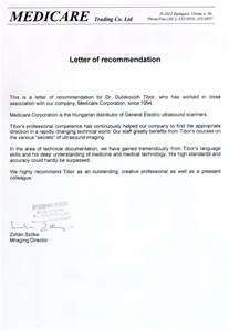 Appointment Letter Format For Radiologist Recommendations For Dr Tibor Duliskovich