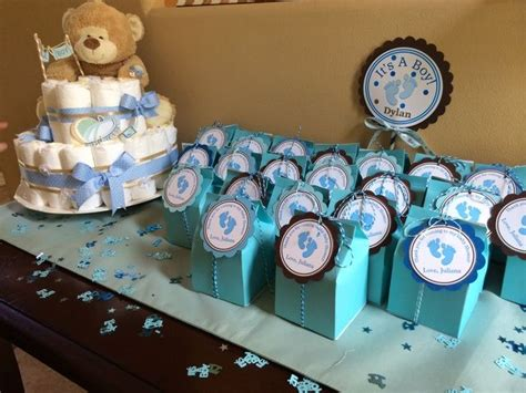 Brown And Blue Baby Shower Decorations by Blue And Brown Baby Shower Ideas