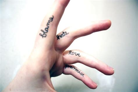 finger tattoo top 50 awesome finger tattoos that are insanely popular