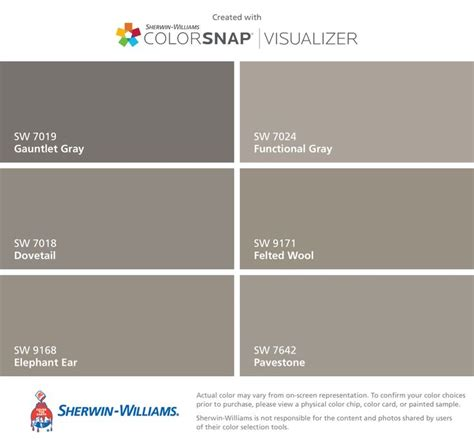 sherwin williams 7019 25 best ideas about gauntlet gray on grey