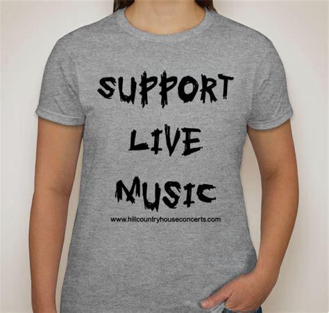 Gildan Hurley hill country house concerts fundsraiser custom ink fundraising