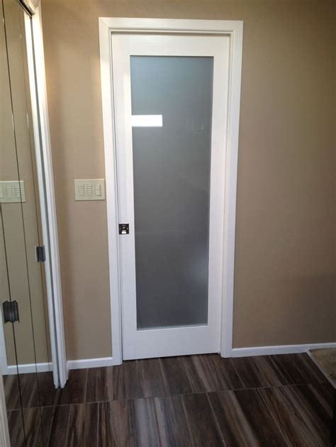 frosted glass pocket door shore house ideas