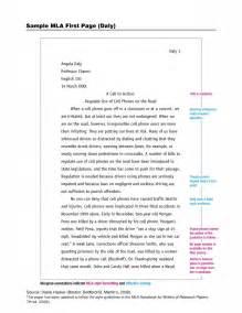 How To Write Mla Essay by Mla Sle Page 187 K Cigotto S Sangji Site