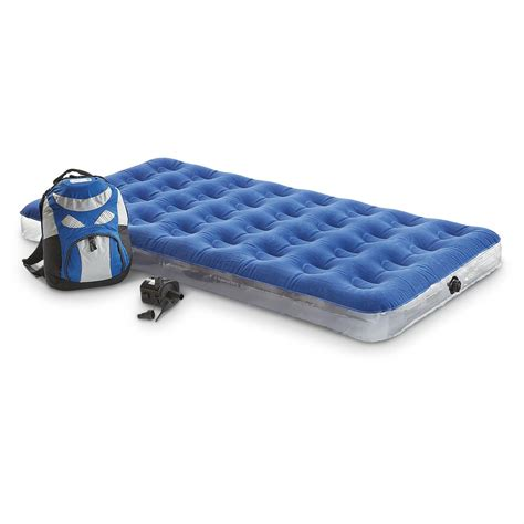 aero air bed aerobed 174 overnighter twin bed 159112 air beds at