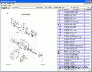 Mitsubishi Spare Part Mitsubishi Forklift Trucks Linkone Spare Parts Catalog