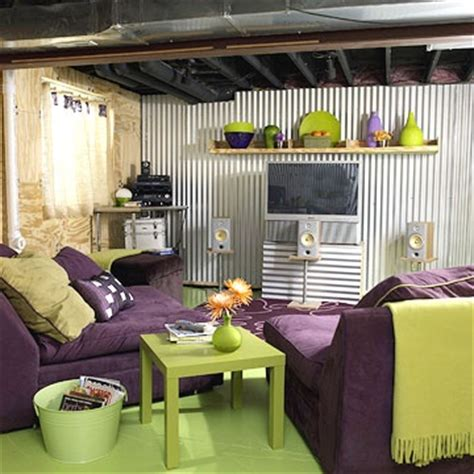 basement decorating ideas on a budget nursery color scheme the purple and lime green together for my girlies