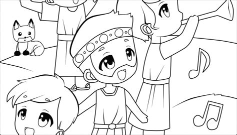 Jehoshaphat And The Choir That Led An Army Life Hope King Jehoshaphat Coloring Page