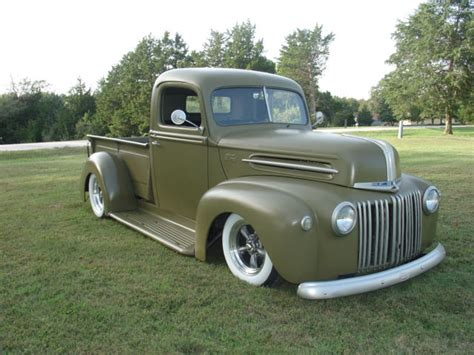 1946 Ford Truck by 1946 Ford Shop Truck Rat Rod F100 Patina Rod