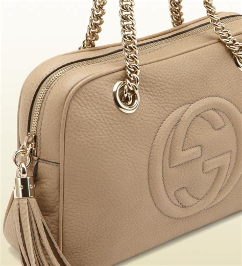 Gucci Handmade Bag - gucci soho leather shoulder bag in lyst