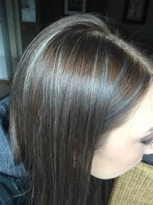 what color low lights look with white grey hair grey highlights in dark hair google search health