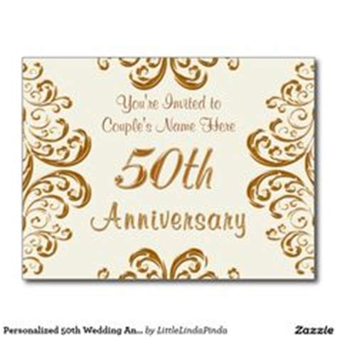 cheap 50th wedding anniversary invitations 1000 images about 50th anniversary present ideas on