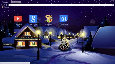 chrome themes winter celebrate the holidays with these christmas chrome themes