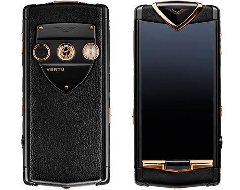 vertu: constellation luxury touchscreen smartphone