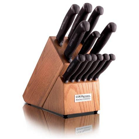 cold steel kitchen knives cold steel kitchen classic set knife 59kset ninjaready