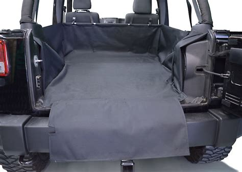 jeep cargo dirtydog 4x4 cargo liner for 07 17 jeep wrangler unlimited