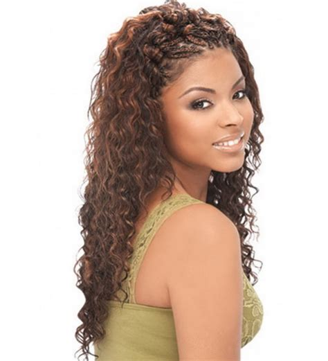 wet and wavy hair styles for black women hairstyles sew in