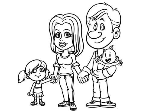 imagenes para pintar la familia d 237 a de la familia dibujos para pintar colorear im 225 genes