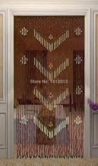 bois de bambou de rideau largeur 90 cm hauteur 180