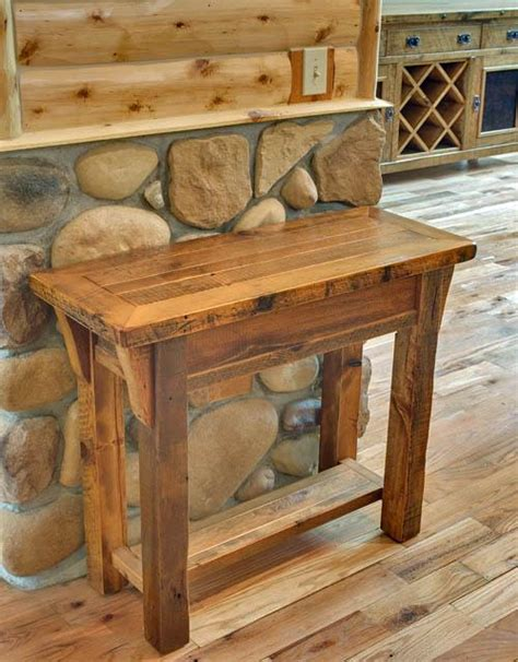 reclaimed wood accent table barnwood accent table reclaimed wood handmande custom