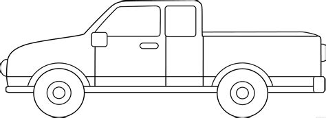 Truck Outline by Truck Clipart Outline Pencil And In Color Truck Clipart Outline