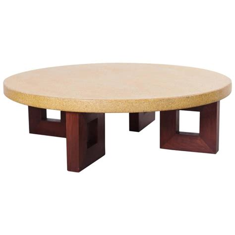 Coffee Tables Cork Paul Frankl Cork Coffee Table For Sale At 1stdibs