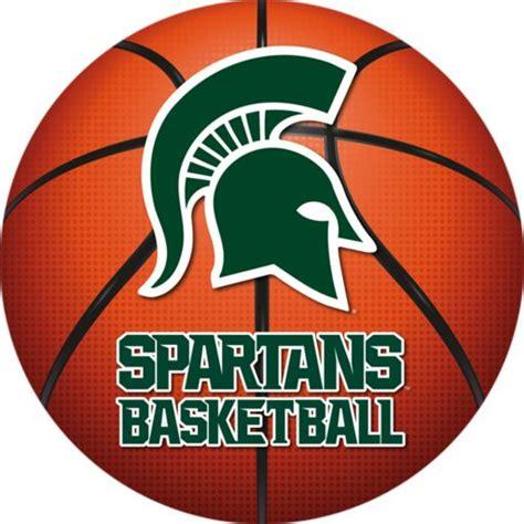 michigan state basketball michigan state spartans basketball logo