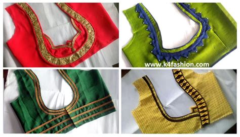 saree blouse designs hubpages wellness homes tattoo design bild simple and easy blouse back neck designs cutting and