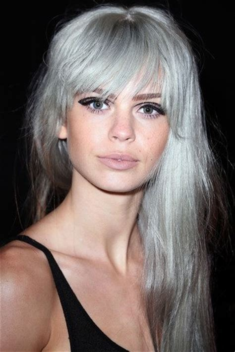 bangs and gray hair 7 amazing hairstyles for silver grey hair pretty designs
