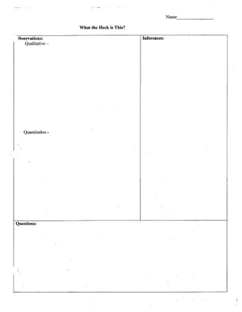 Qualitative Vs Quantitative Observations Worksheet by Qualitative And Quantitative Observations Worksheet Free