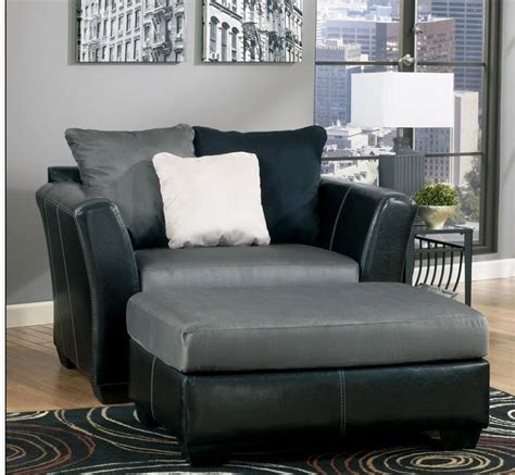 Best Design Set Oversized Chair And Ottoman Doherty House Oversized Chair And Ottoman Set