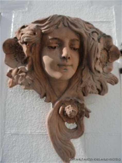 lade in terracotta beautiful nouveau wall planter terracotta